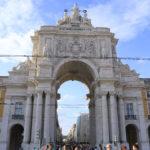 L'arc de triomphe de la rue Augusta