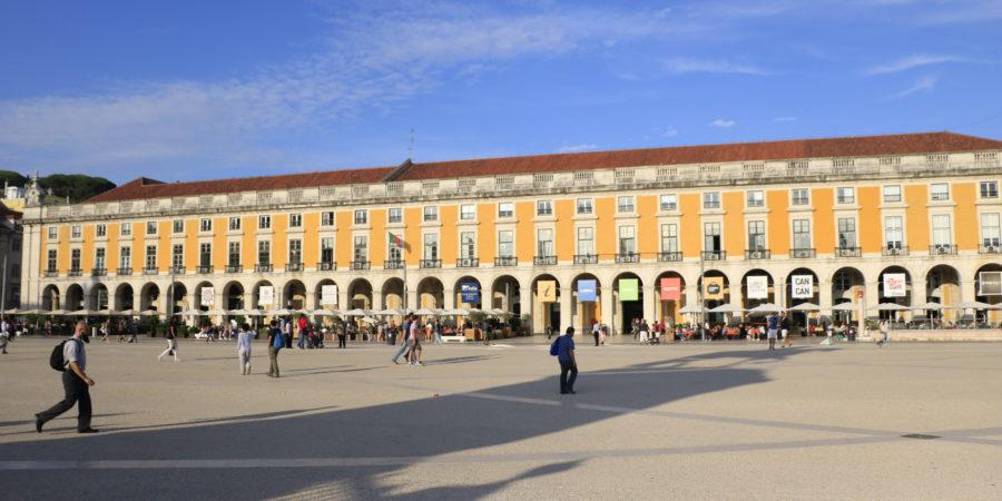 La place du Commerce Lisbonne