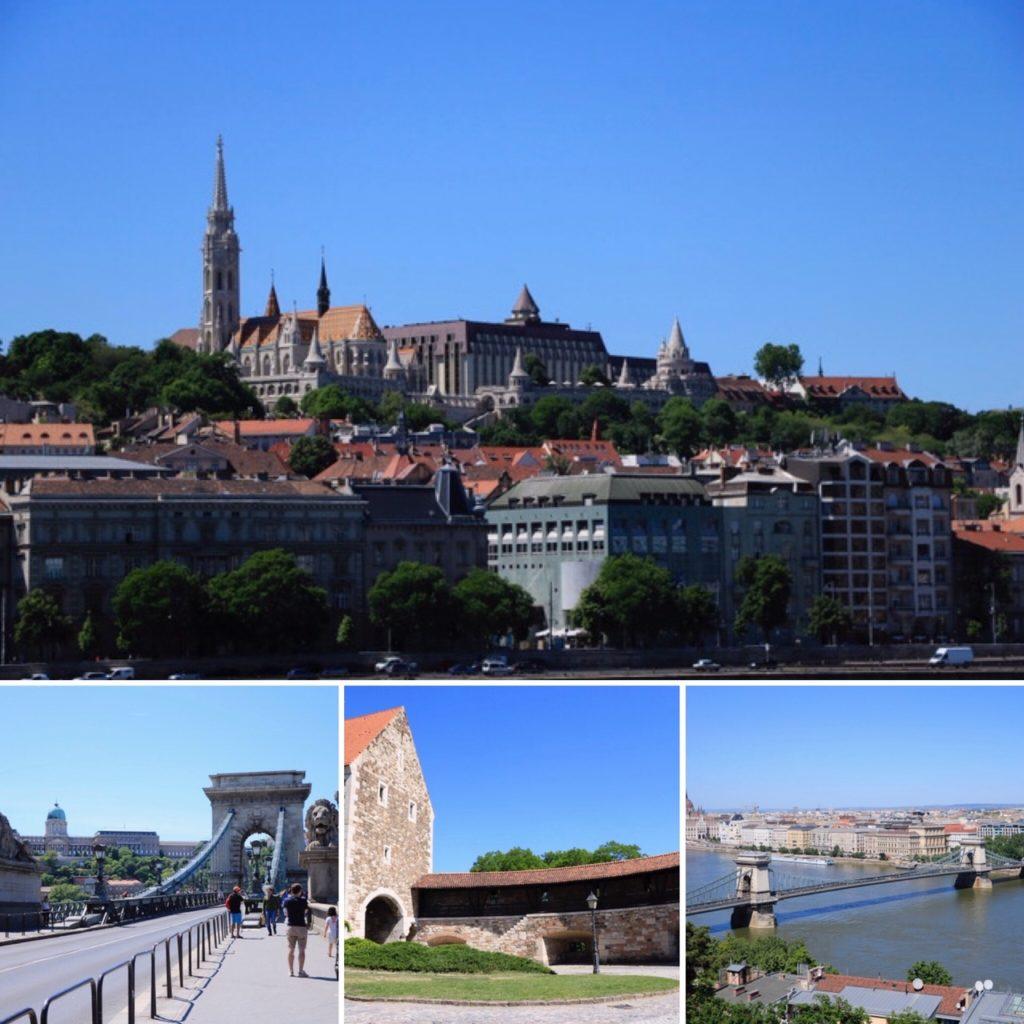 Palais de Budavar, Pont des Chaines Budapest