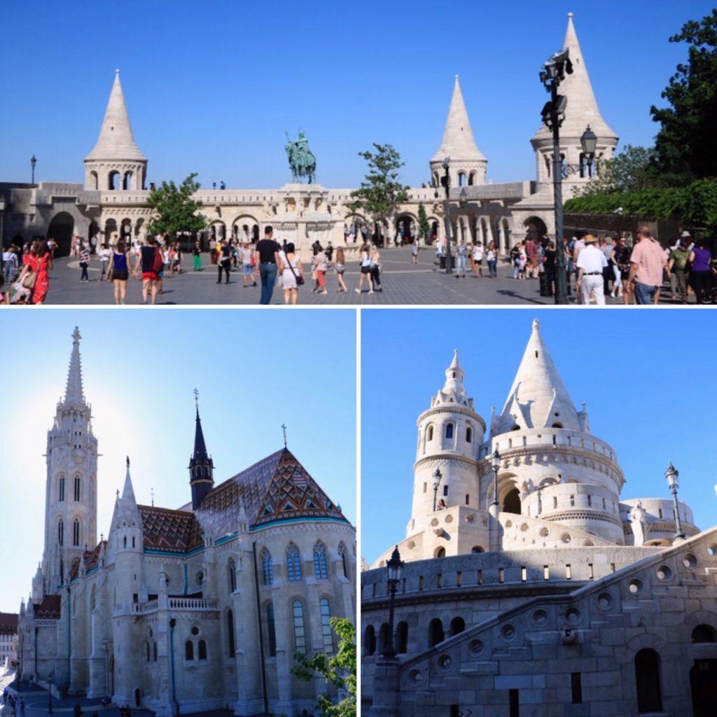 Eglise Mathias et Bastion des pêcheurs de Budapest