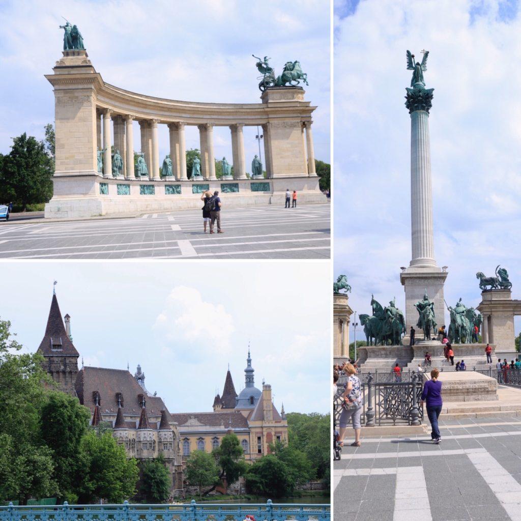 Monument du Millénaire et place des Héros de Budapest